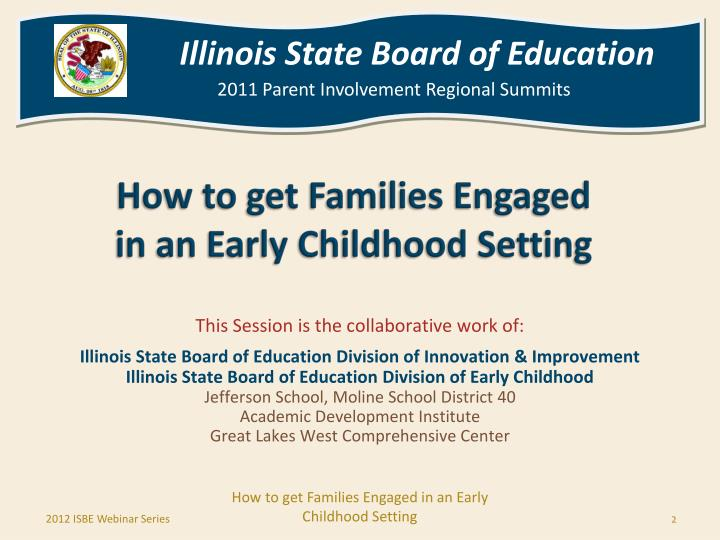 How to get families engaged in an early childhood setting2