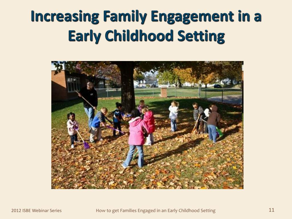 Increasing Family Engagement in a Early Childhood Setting