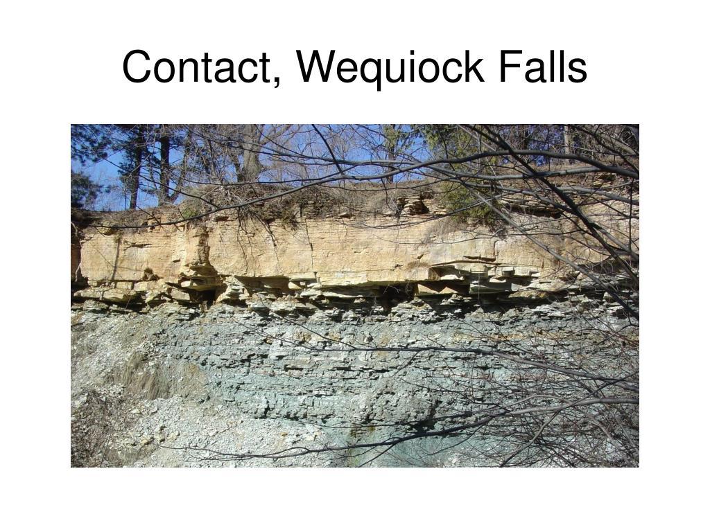 Contact, Wequiock Falls