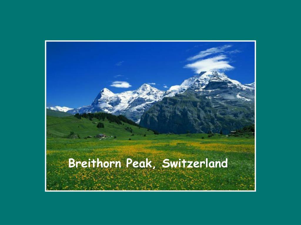 Breithorn Peak, Switzerland