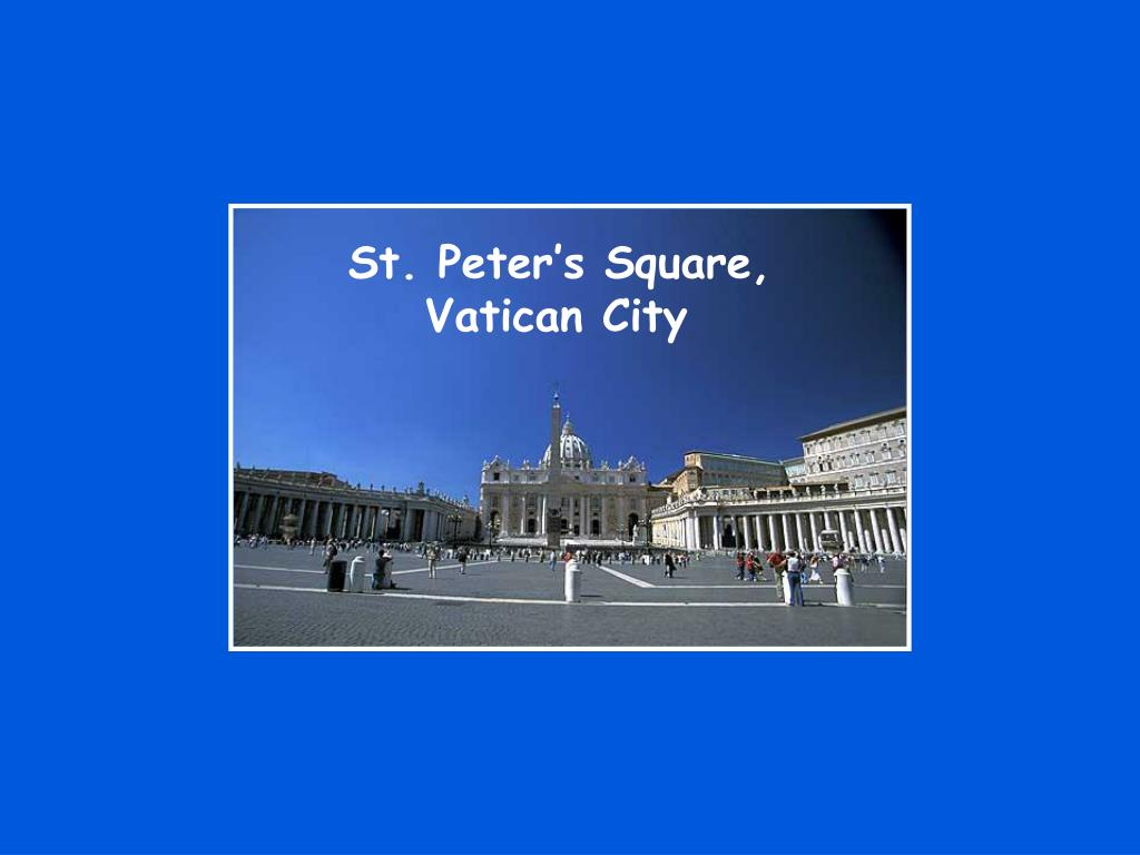 St. Peter's Square,