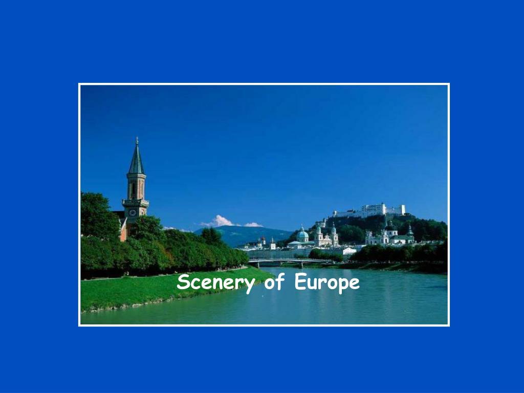 Scenery of Europe