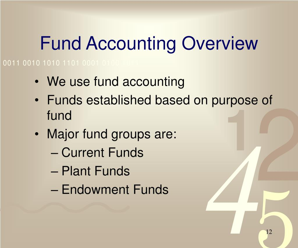 Fund Accounting Overview