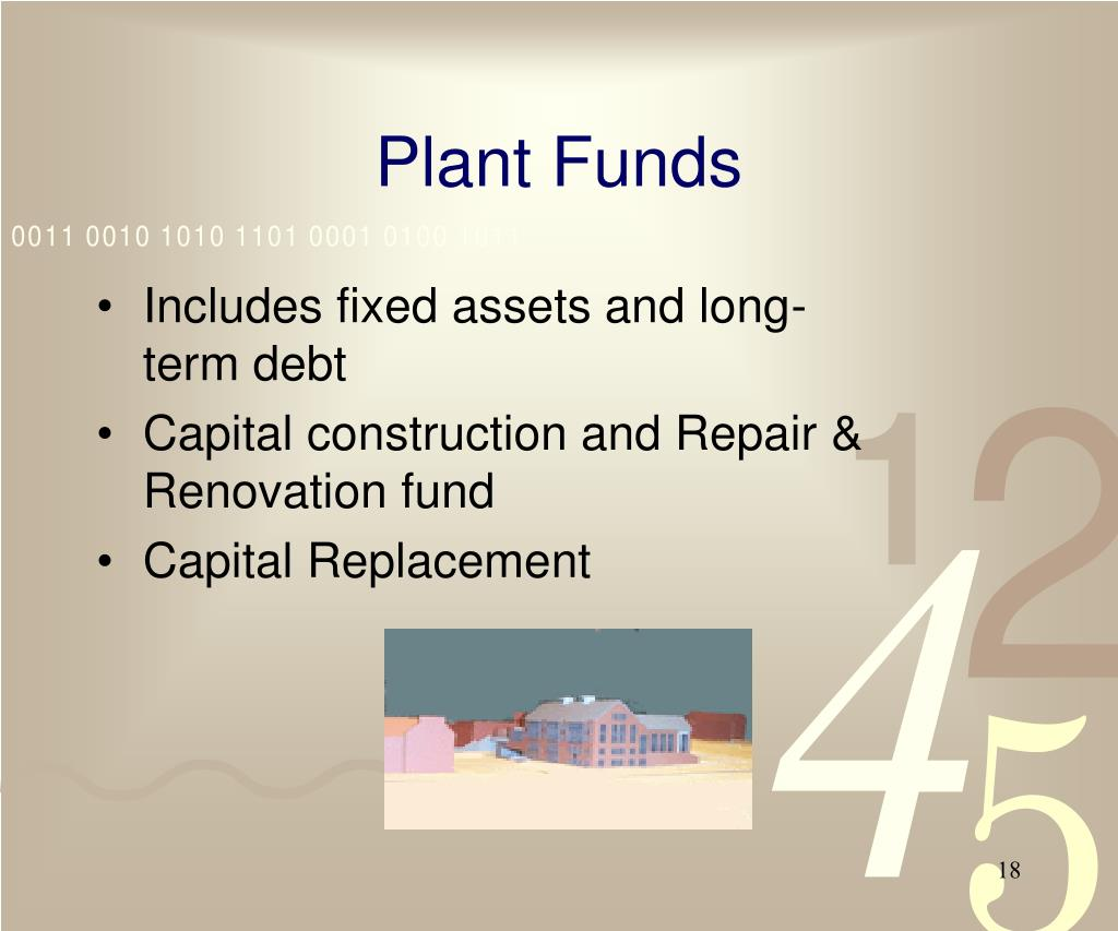 Plant Funds
