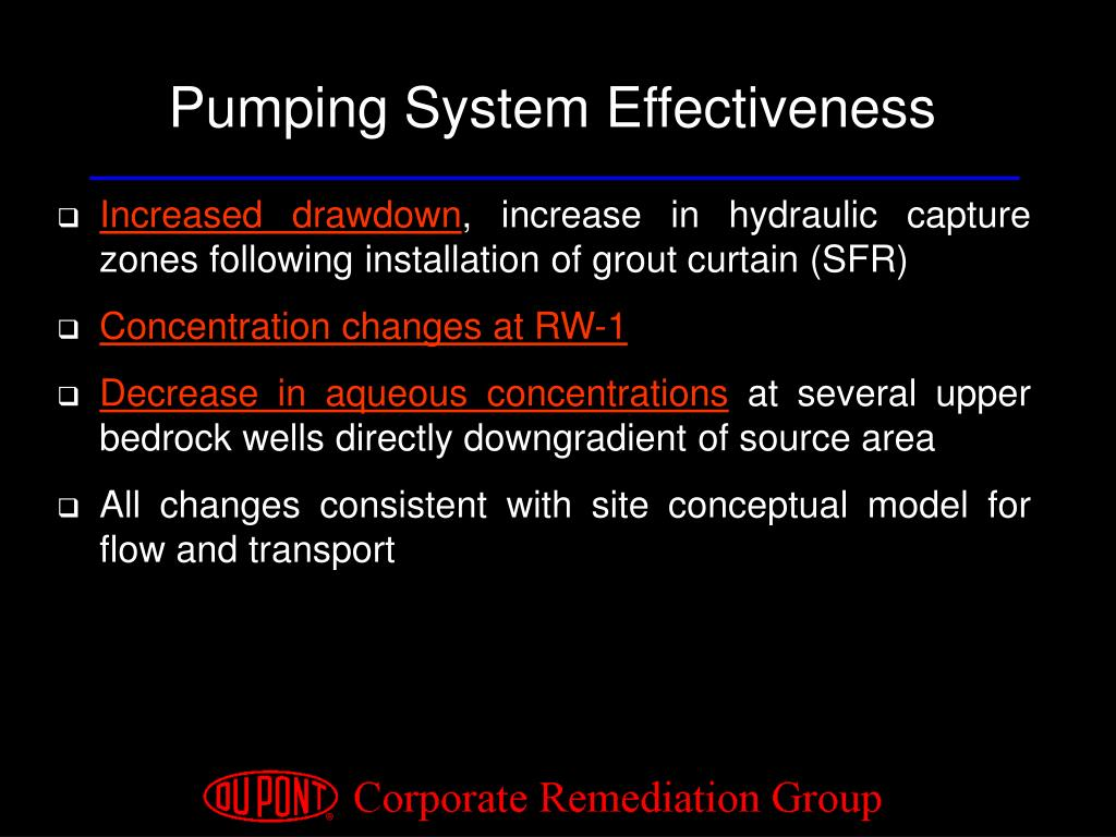 Pumping System Effectiveness