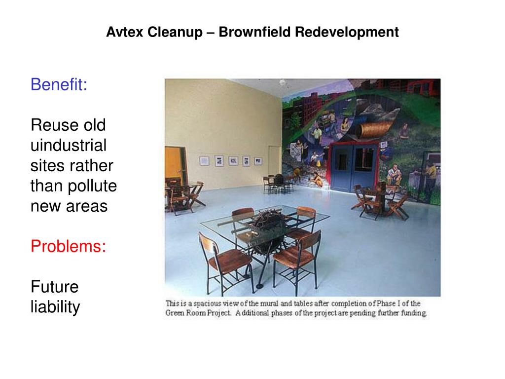 Avtex Cleanup – Brownfield Redevelopment