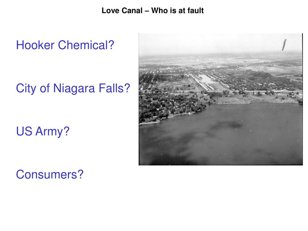 Love Canal – Who is at fault