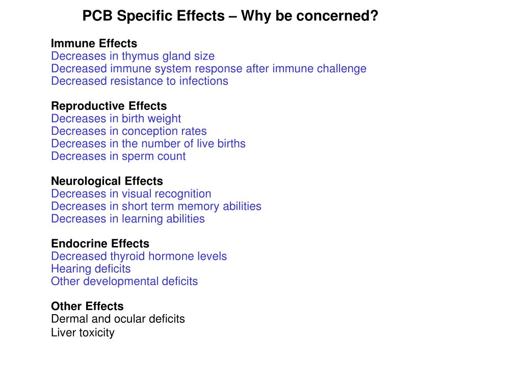 PCB Specific Effects – Why be concerned?