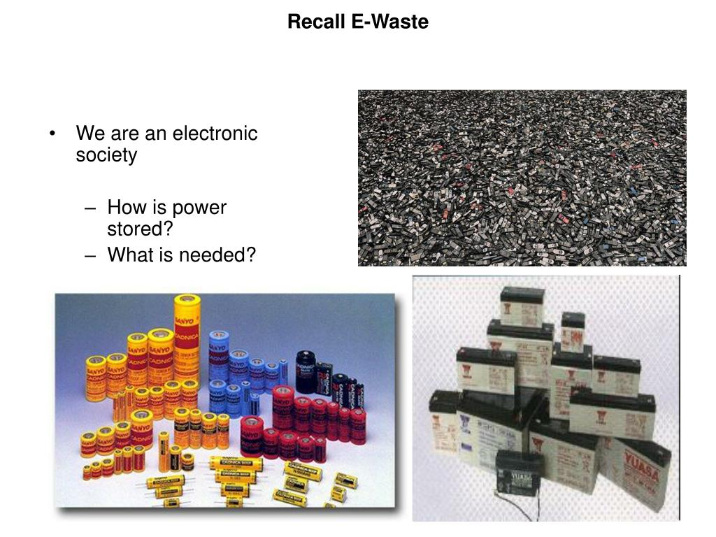Recall E-Waste