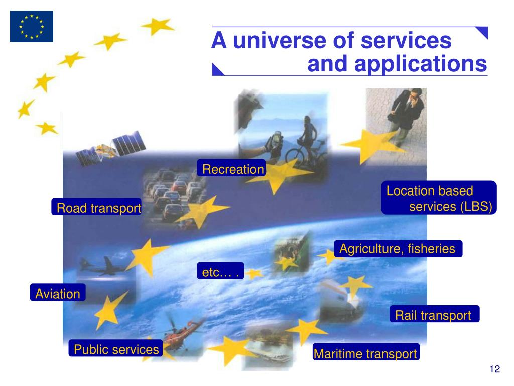 A universe of services