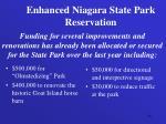 enhanced niagara state park reservation