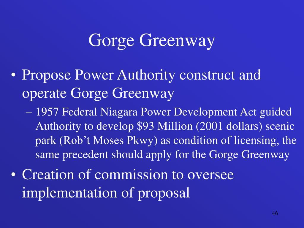 Gorge Greenway
