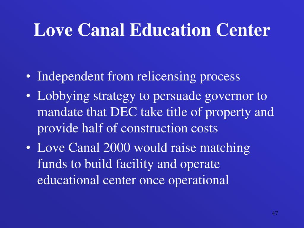 Love Canal Education Center