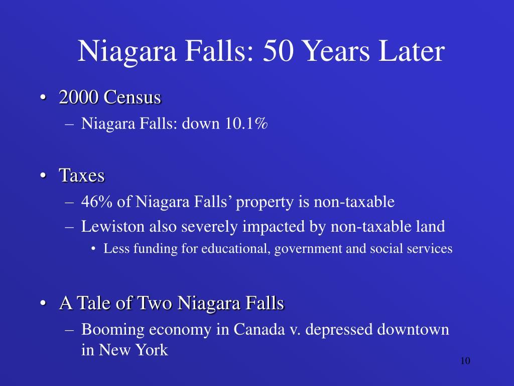 Niagara Falls: 50 Years Later