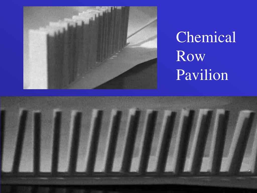 Chemical Row Pavilion