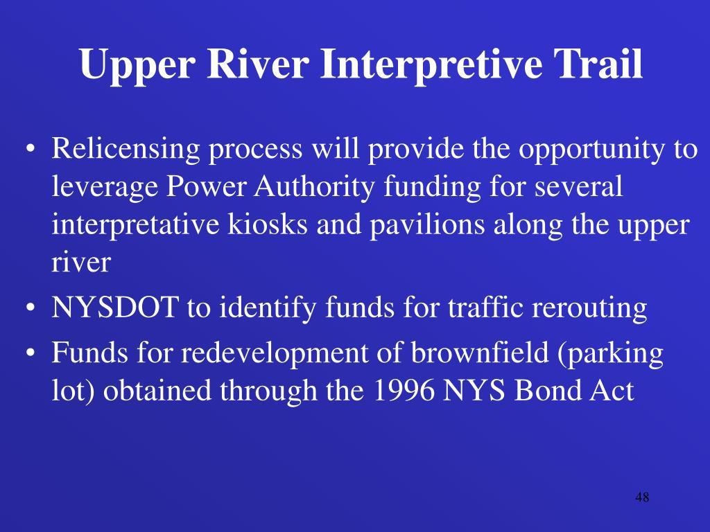 Upper River Interpretive Trail