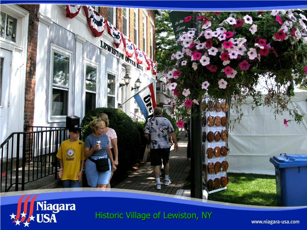 Historic Village of Lewiston, NY
