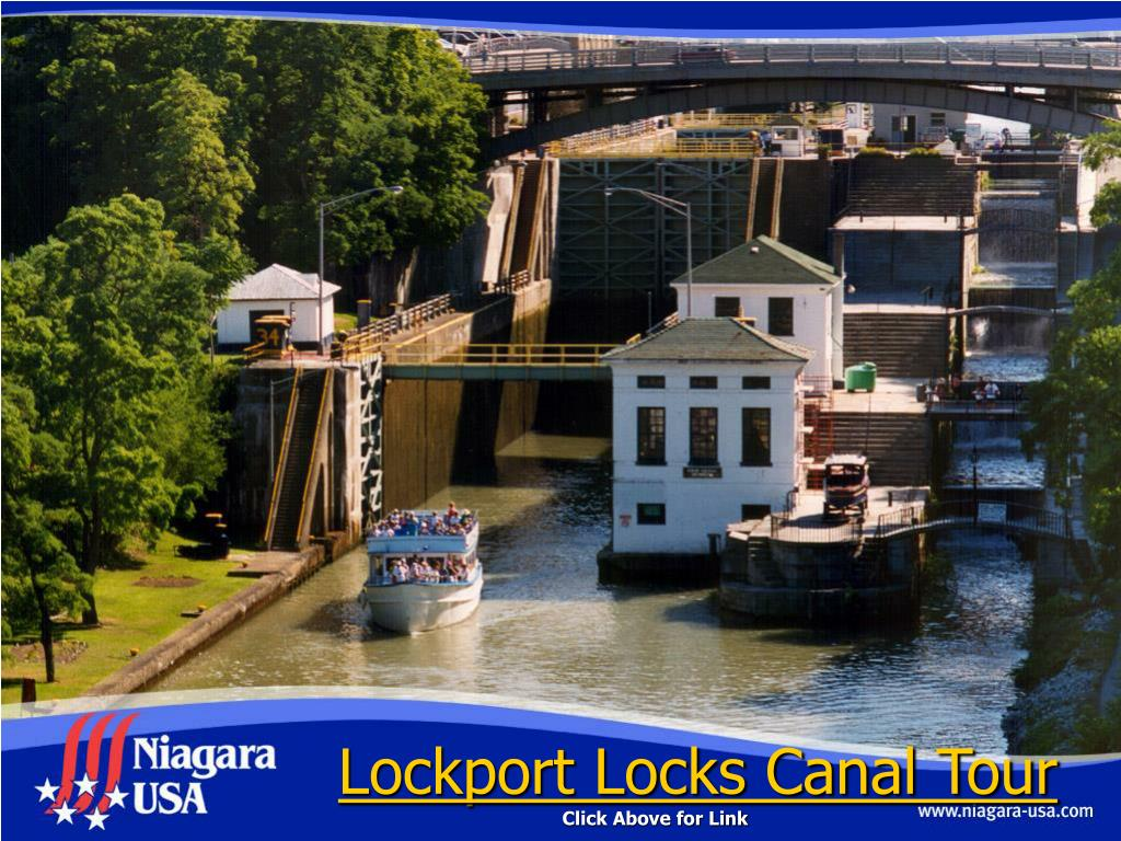 Lockport Locks Canal Tour