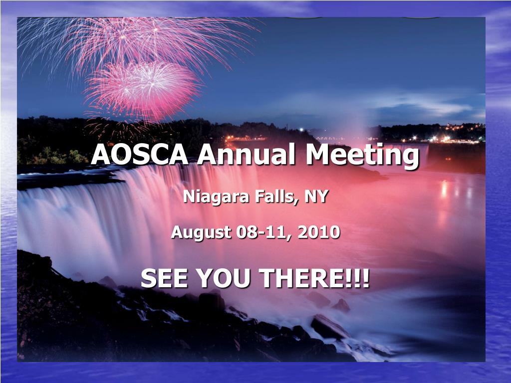 AOSCA Annual Meeting
