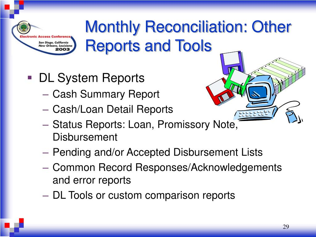 Monthly Reconciliation: Other Reports and Tools