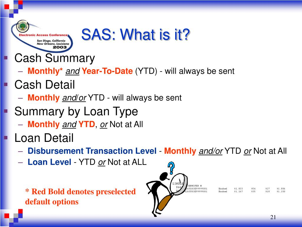 SAS: What is it?
