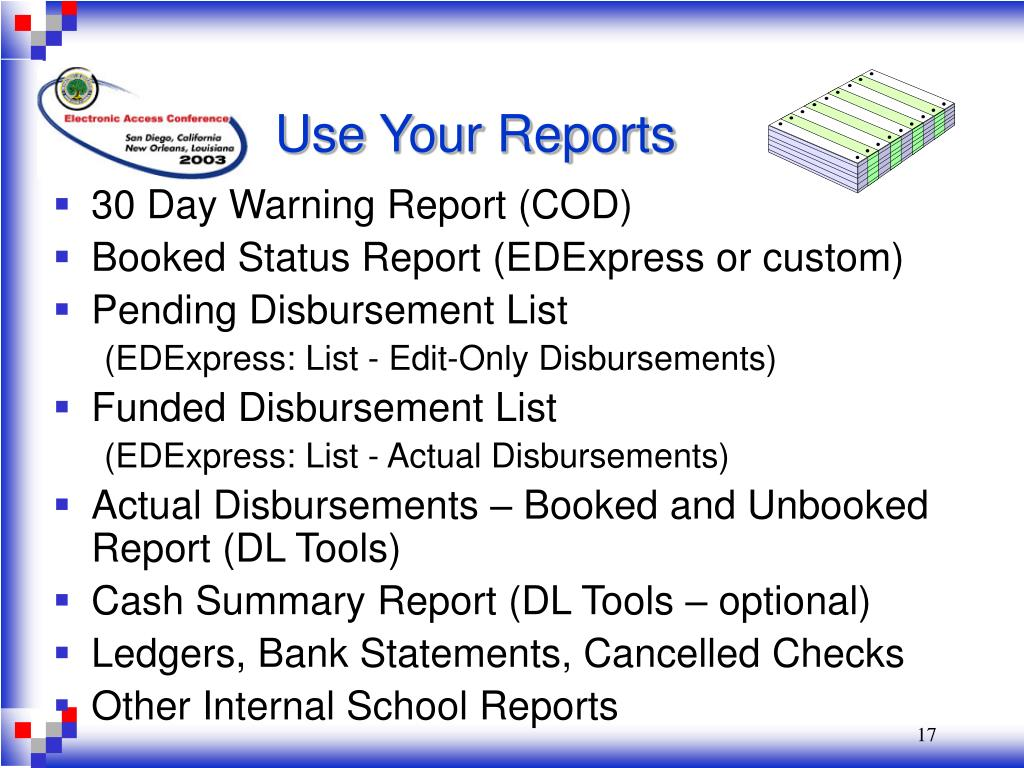 Use Your Reports