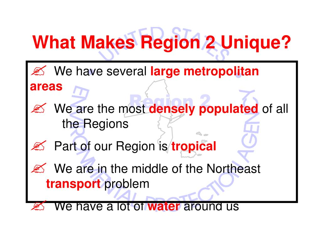 What Makes Region 2 Unique?