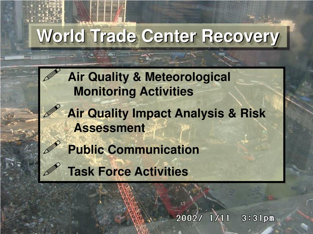 World Trade Center Recovery