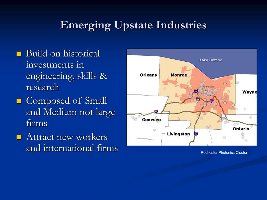 Emerging Upstate Industries