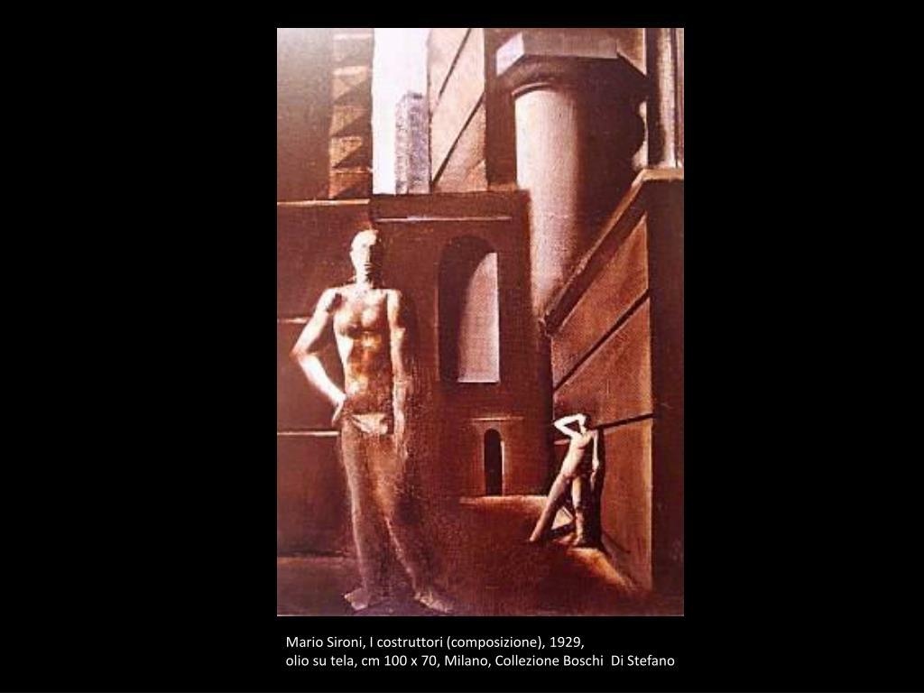 Mario Sironi, I costruttori (composizione),