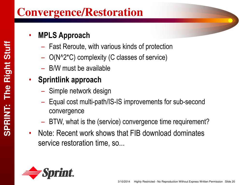 Convergence/Restoration