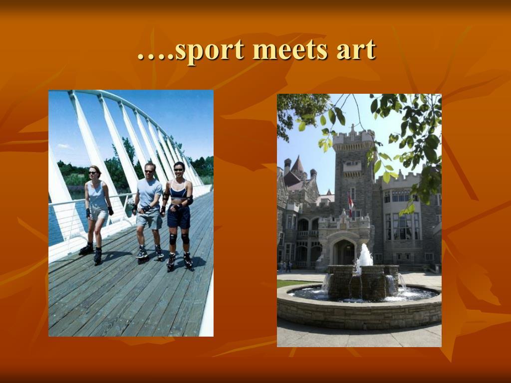 ….sport meets art