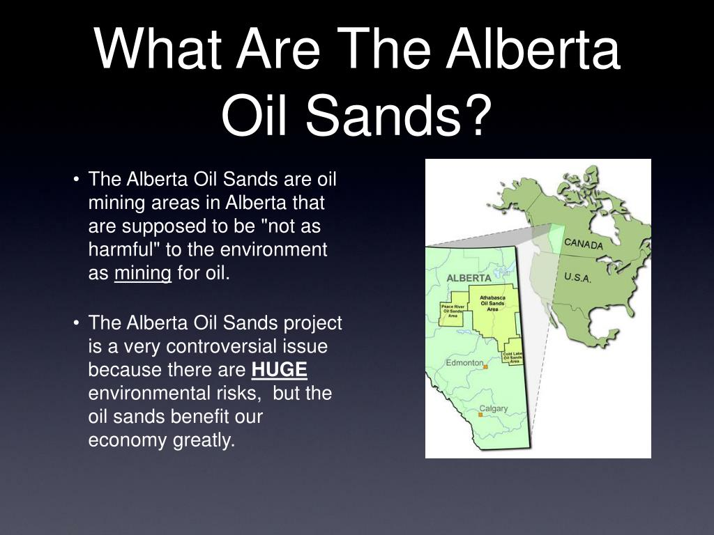 What Are The Alberta Oil Sands?