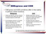 edexpress and cod
