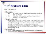 problem edits41