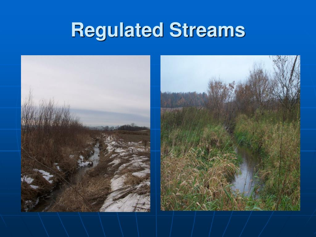 Regulated Streams