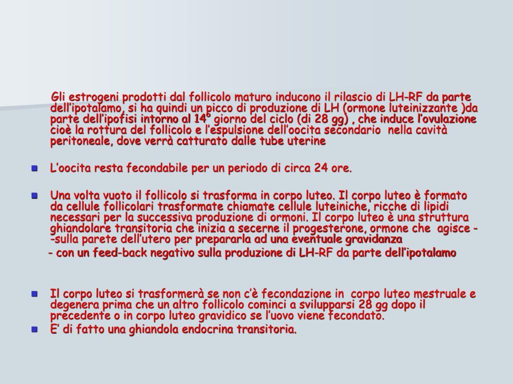 Ppt apparato riproduttore powerpoint presentation id 669702 - Sensazione di bagnato prima del ciclo o gravidanza ...
