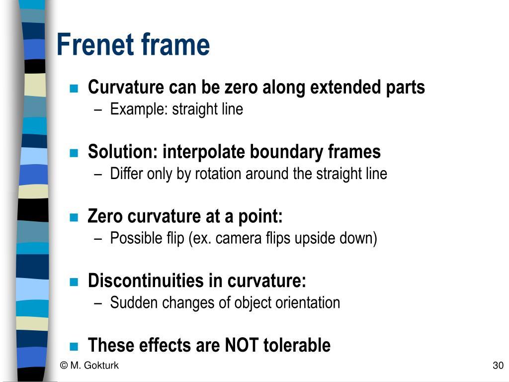 Frenet frame
