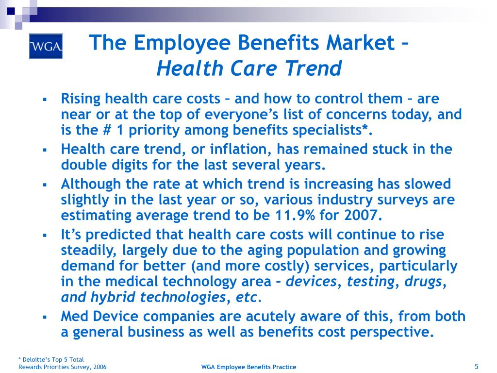 The Employee Benefits Market –