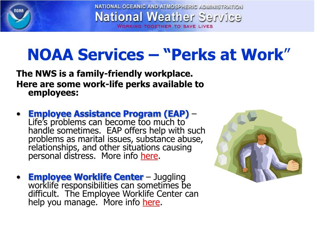 "NOAA Services – ""Perks at Work"
