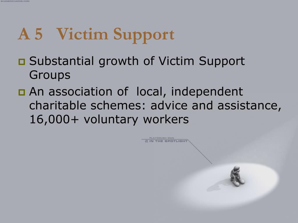 A 5   Victim Support