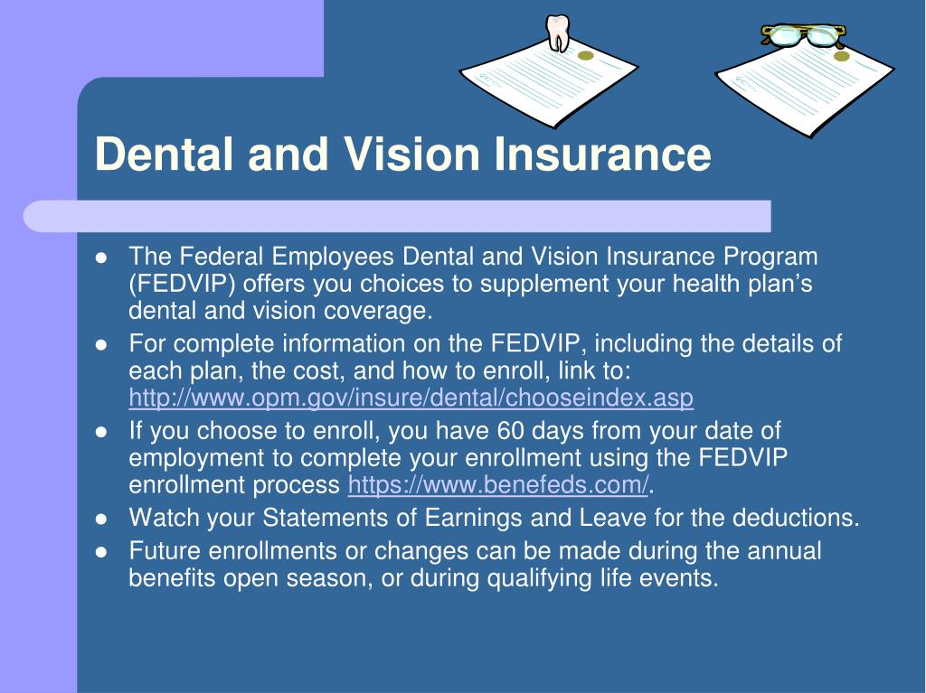 Dental and Vision Insurance