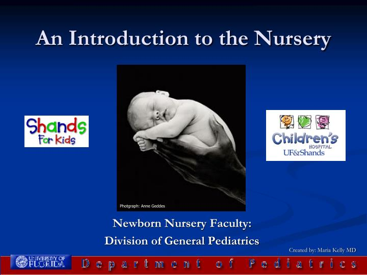An introduction to the nursery l.jpg