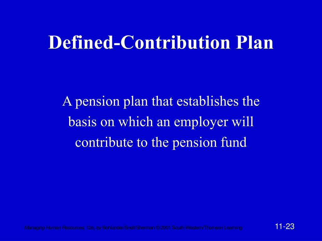 Defined-Contribution Plan