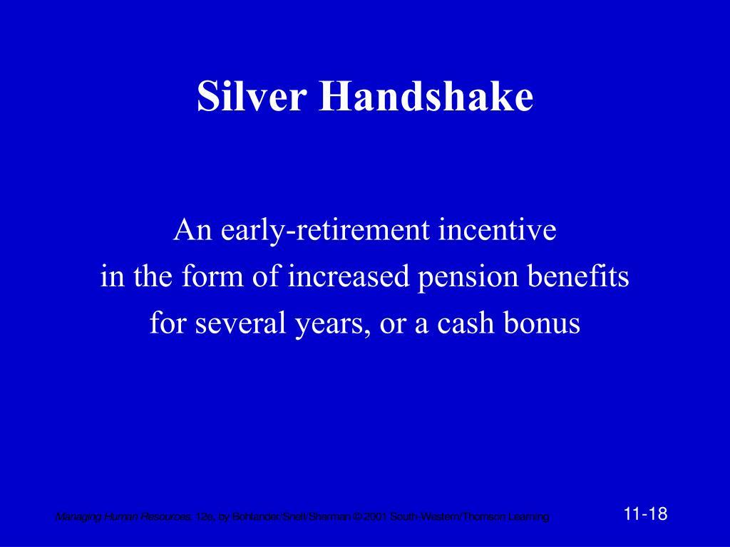 Silver Handshake