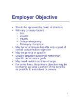 employer objective
