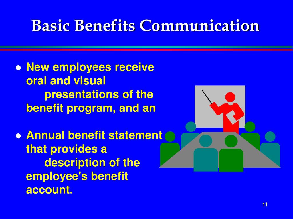Basic Benefits Communication
