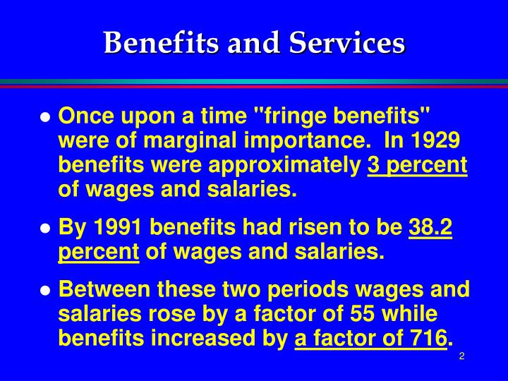 Benefits and services2