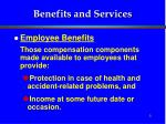 benefits and services5