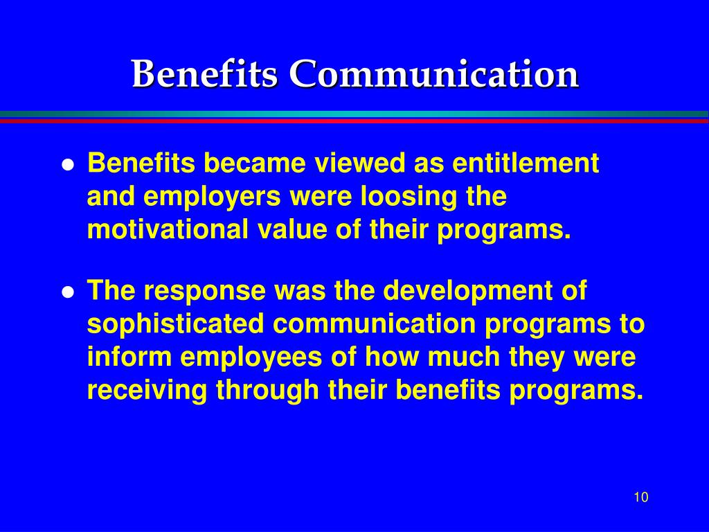 Benefits Communication